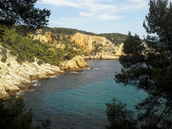 région de Bandol à Saint-Tropez - Port Cros - les îles de Porquerolles