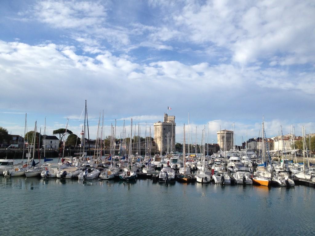 Naviguer au départ de la Rochelle