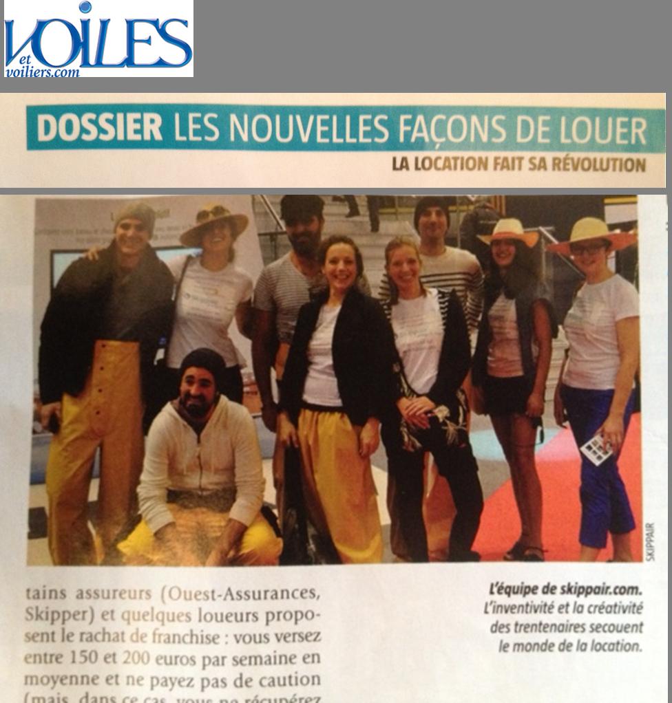 Skippair dans Voile et Voiliers N°517 Mars 2014