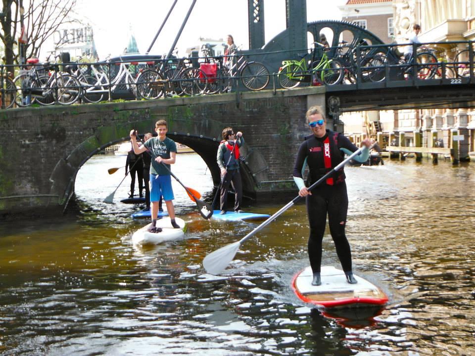 Week-end SUP a Amsterdam - Balade en SUP