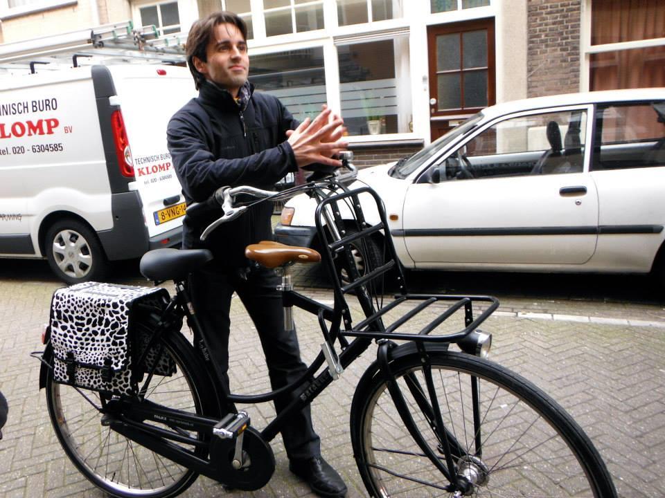Week-end SUP a Amsterdam - Balade en velo