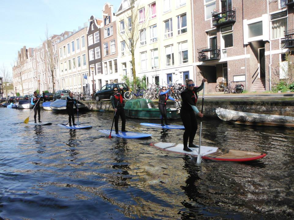 Week-end Stand Up Paddle a Amsterdam