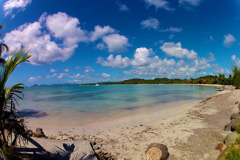Croisiere en catamaran dans les Grenadines - Paysage