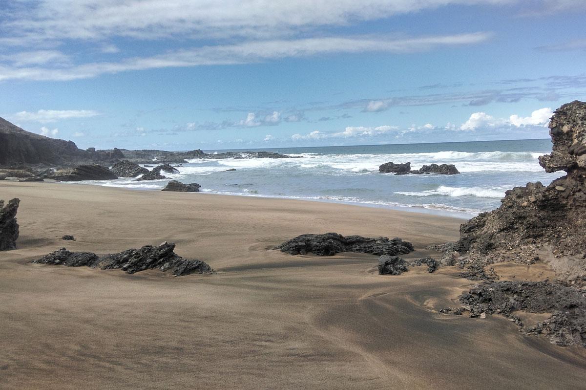 Plage de Fuerteventura, aux Canaries
