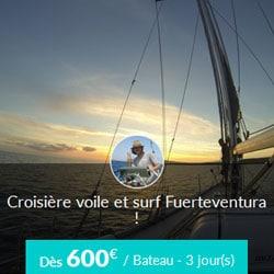 Miniature de l'offre de croisière Skippair voile et surf avec Juan aux Canaries
