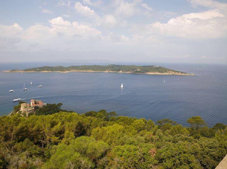 Croisiere voilier sur la cote Azur - Port-Cros
