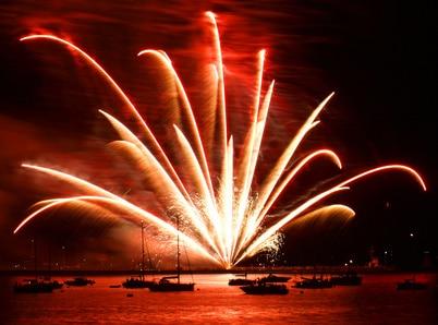 croisière en voilier au nouvel an