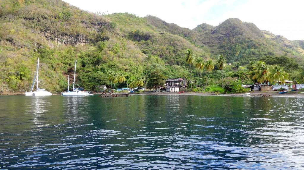 Partez en croisière à la voile à bord d'un catamaran depuis le port du Marin en Martinique avec Pierre Walter, skipper pro et moniteur de plongée