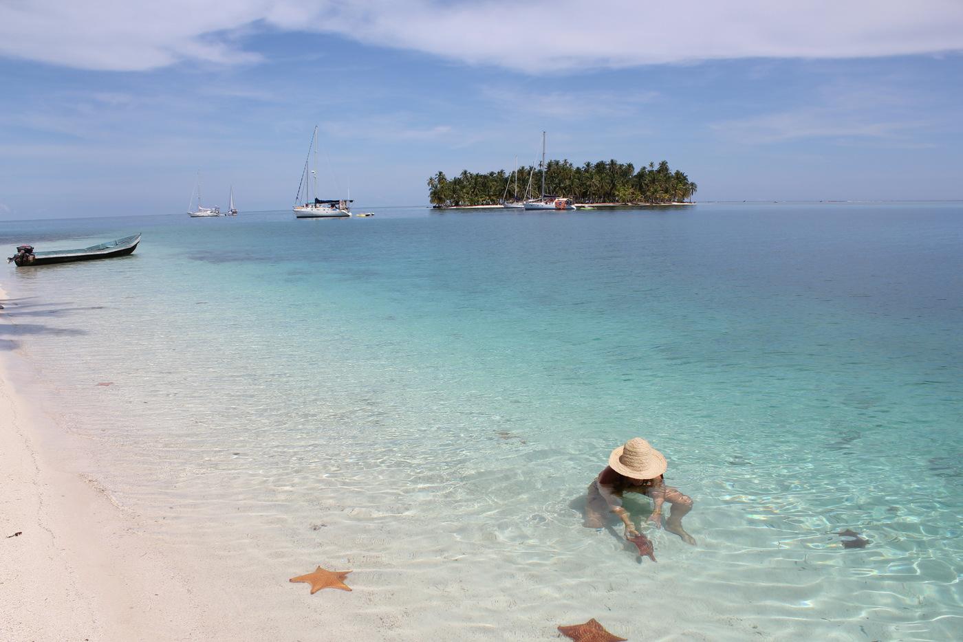 Croisiere voilier aux San blas - une plage - skippair