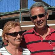 Han et Ingrid skipper aux Canaries