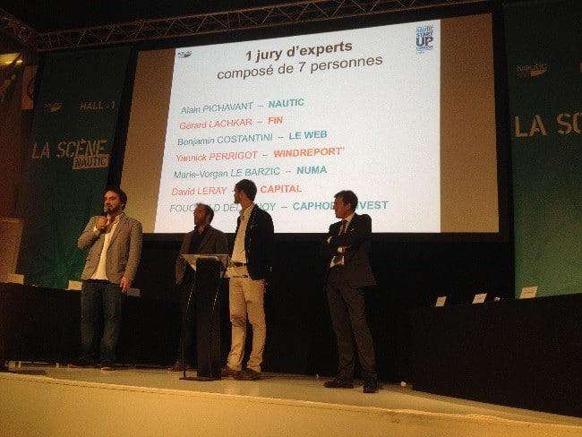 Le jury du Nautic Startup Contest