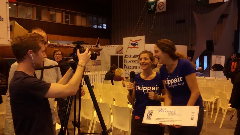 Skippair vainqueur du Nautic StartUp Contest (2)