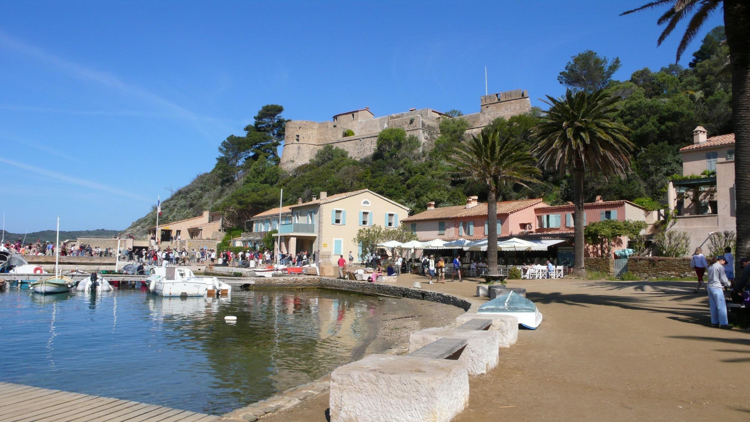 Croisiere cabine cote Azur - port cros