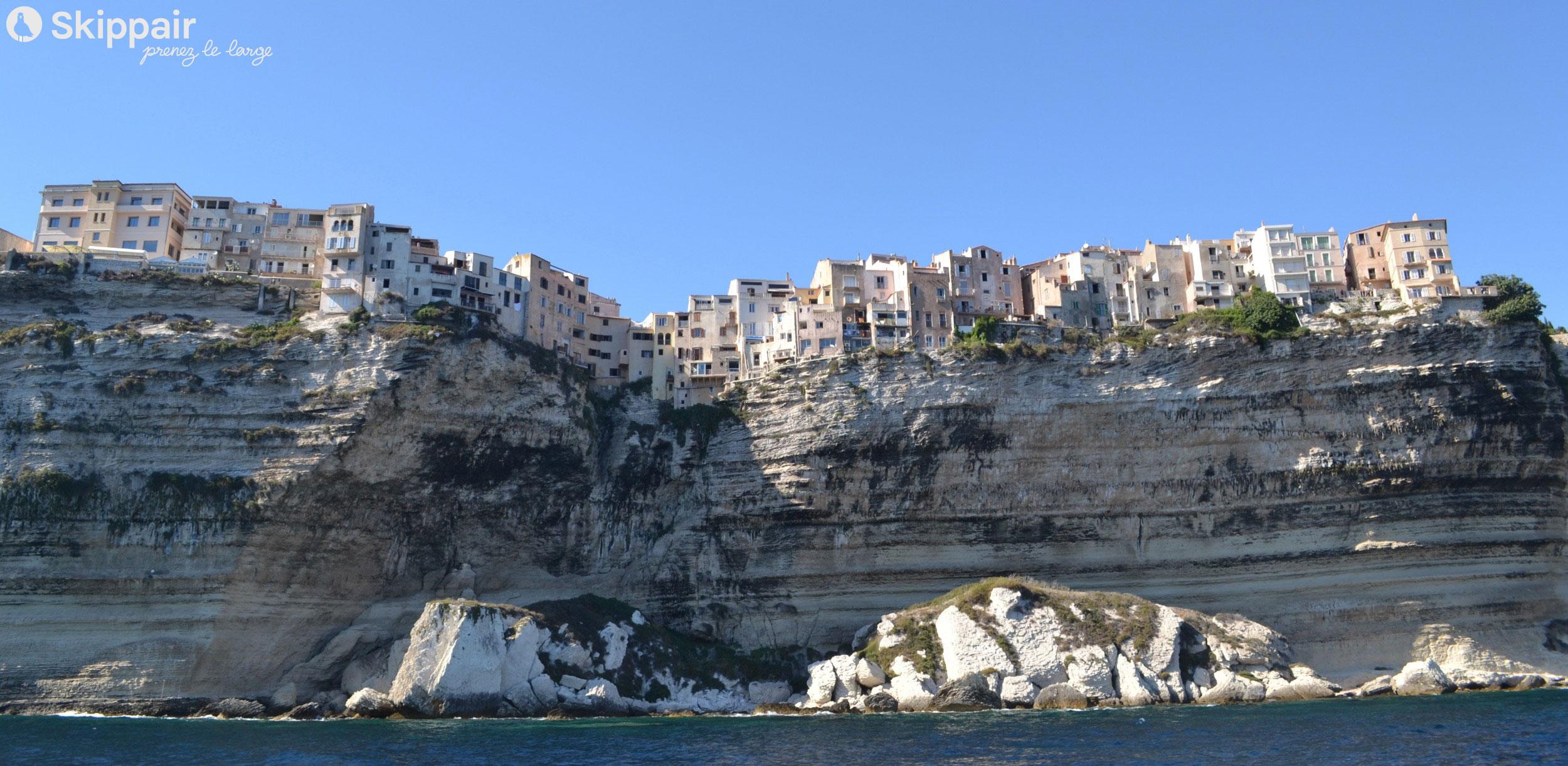 Croisiere journee Corse - Bonifacio