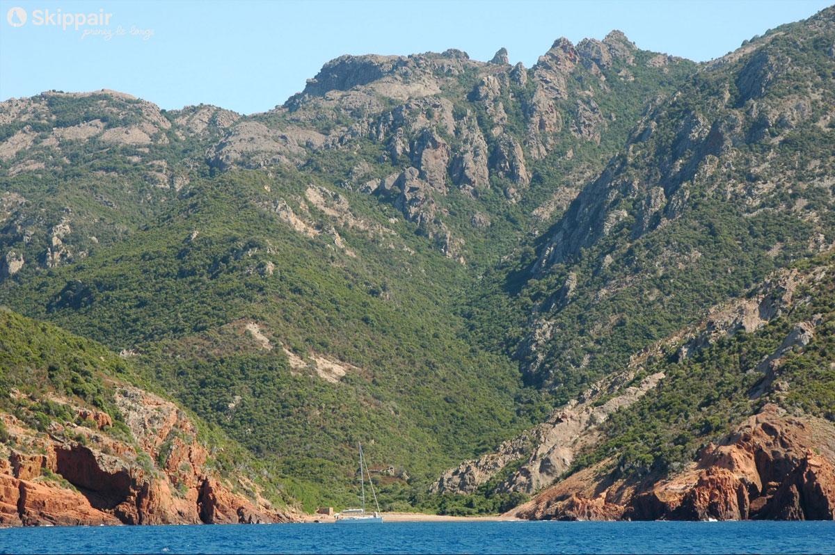 Marine d'Elbo en Corse