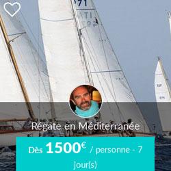 Miniature de l'offre Skippair régate en Méditerranée avec Andres