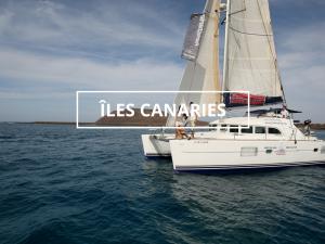 croisiere catamaran aux Canaries