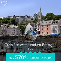 Miniature de l'offre de croisière week-end Skippair en Bretagne sud avec Gilles