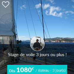 Miniature de l'offre de stage de voile Skippair au large du Morbihan avec Stéphane