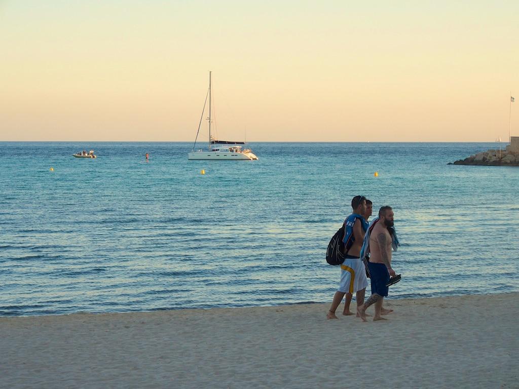 Croisiere cabine en catamaran a Majorque - Coucher de soleil