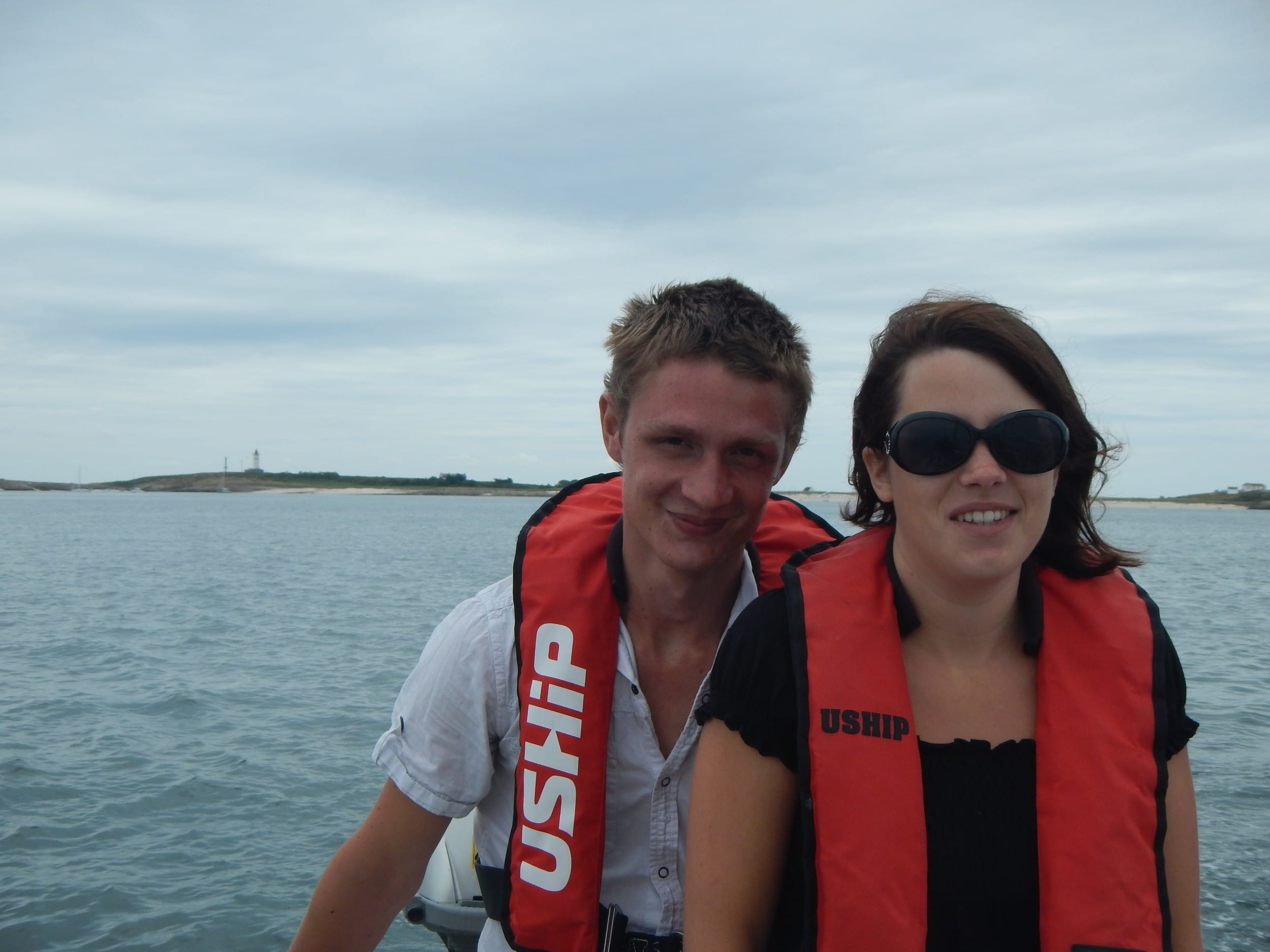 Couple en mer - Skippair