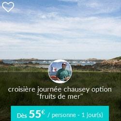 Miniature de croisière journée Skippair à Chausey avec Franck