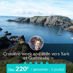 Miniature de l'offre de croisière Skippair vers Sark et Guernesey avec Gérard