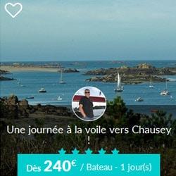 Miniature de l'offre de croisière journée Skippair vers Chausey avec Erick