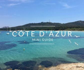Conseils pratiques pour partir en Côte d'Azur