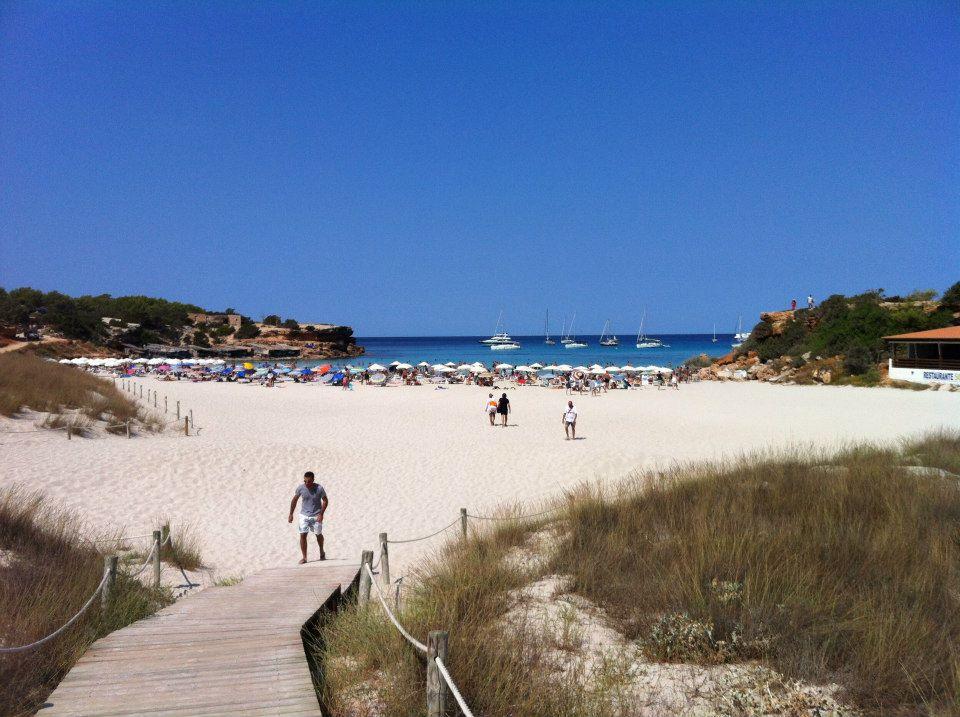 La plage de Cala Saona, sur l'île de Formentara, aux Baléares
