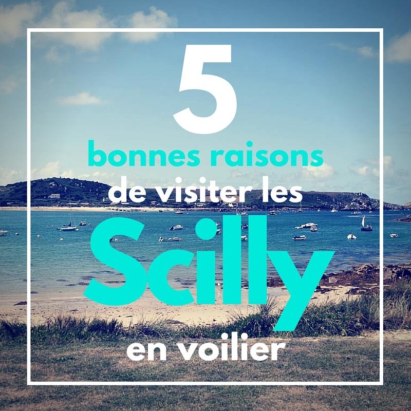 Cinq bonnes raisons de visiter les îles Scilly en voilier avec Skippair