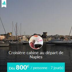 Miniature de l'offre de croisière cabine Skippair avec Fabrizio en baie de Naples