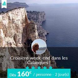 Miniature de l'offre de croisière Skippair avec Jean dans les calanques de Marseille