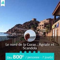 Miniature de l'offre de croisière Skippair avec Jean dans le nord de la Corse