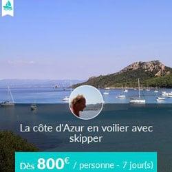 Miniature de l'offre de croisière Skippair avec Jean sur la Côte d'Azur