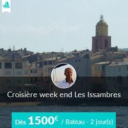 Miniature de l'offre de croisière Skippair en voilier avec Lionel sur la Côte d'Azur, au départ des Issambres