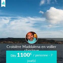 Miniature de l'offre de croisière Skippair avec Andres dans l'archipel de La Maddalena
