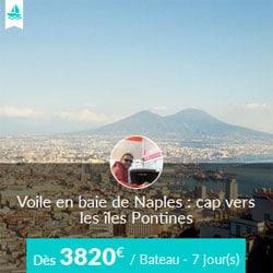 Miniature de l'offre de croisière Skippair avec Fabrizio vers les îles Pontines