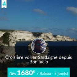 Miniature de l'offre de croisière Skippair avec David en Sardaigne au départ de Bonifacio