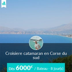 Miniature de l'offre de croisière catamaran Skippair avec Jean-Pol en Corse et Sardaigne