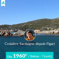 Miniature de l'offre de croisière Skippair avec Jérôme en Sardaigne au départ de Figari
