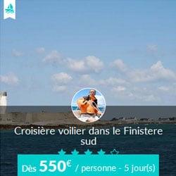 Miniature de l'offre de croisière Skippair avec Eric dans le Finistère sud