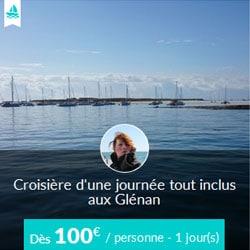 Miniature de l'offre de croisière journée Skippair avec Julie aux Glénan