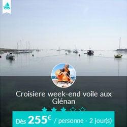 Miniature de l'offre de croisière week-end Skippair avec Eric aux Glénan