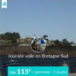 Miniature de l'offre de croisière Skippair à la journée avec Gilles en Bretagne sud