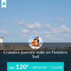 Miniature de l'offre de croisière Skippair à la journée avec Eric en Finistère sud