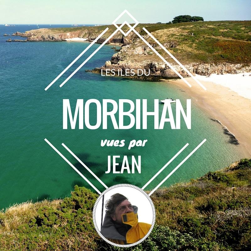 Les îles du Morbihan, vues par Jean, skipper pro chez Skippair