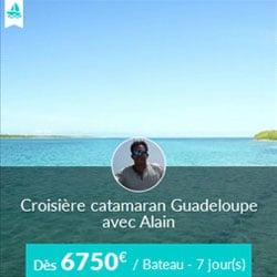 Miniature de l'offre de croisière catamaran Skippair en Guadeloupe avec Alain