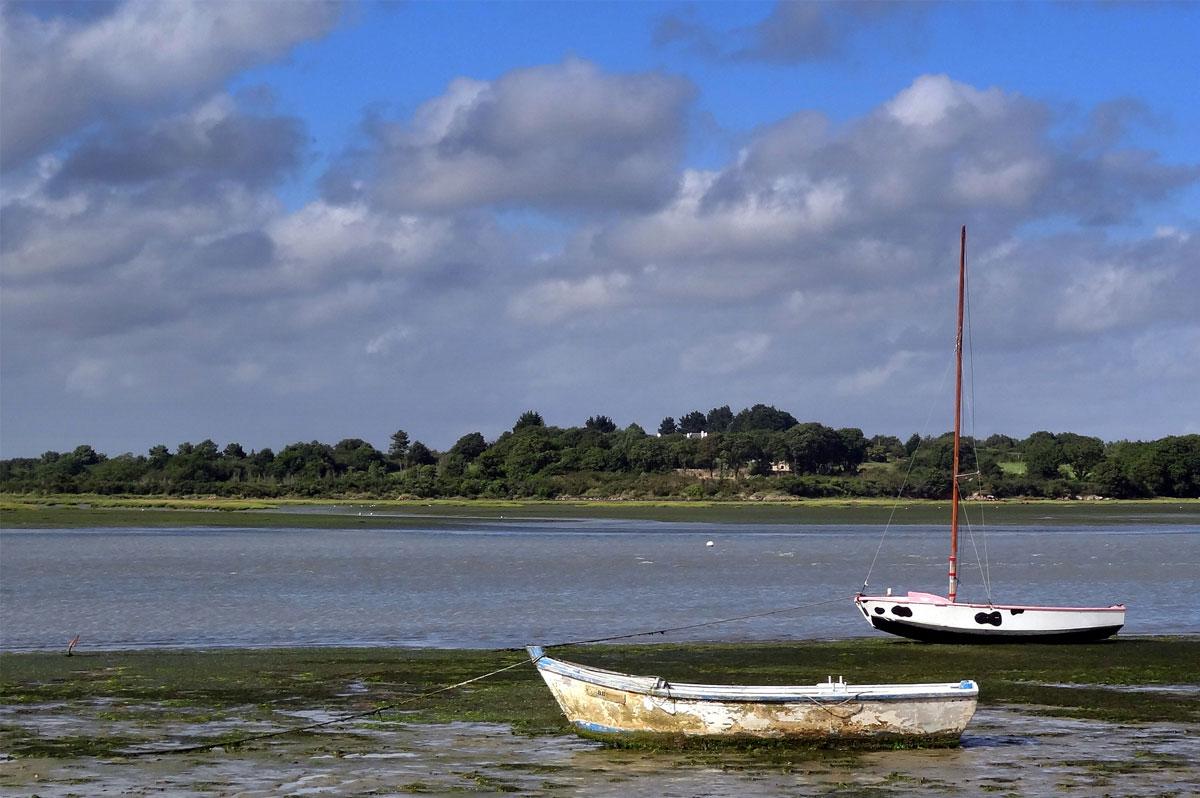 Golfe du Morbihan, du côté de Béchit