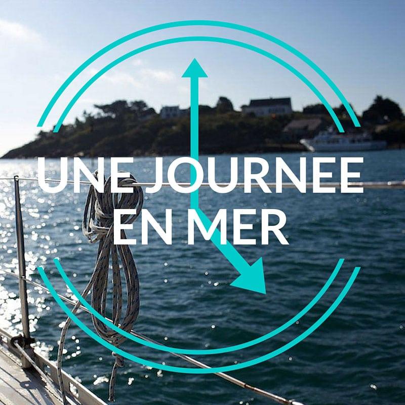 Programme-type d'une journée en mer